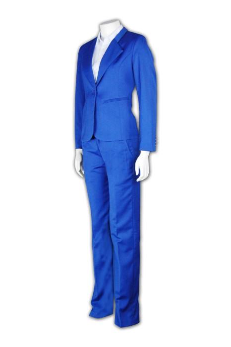 BSW240 行政商務套裝 翻領女西裝款式 短身修腰套裝 西裝度身訂製 西裝公司