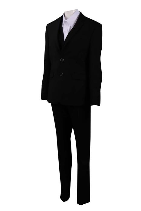 BSW253 製作女行政套裝 商務套裝 澳門酒店 餐廳經理 65%滌 35%人造絲 西裝生產商