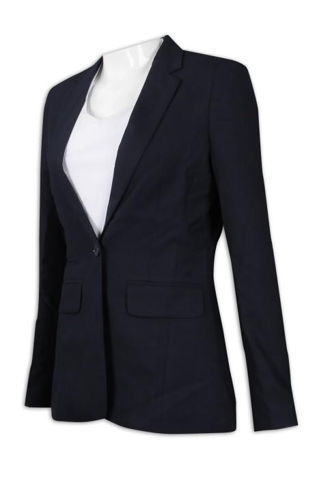 BSW254 訂做女裝收腰西服 商務外套 西裝供應商