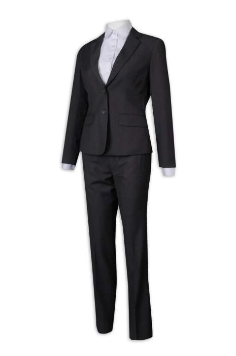BWS257 訂做女西裝 修腰 修身 工作服 上班服 女西裝供應商