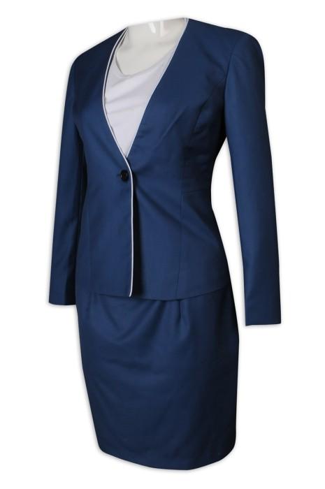 BWS261 自訂女西裝 65%滌 35%絲 女裝 套裝 西裝裙 西裝外套 女西裝專門店
