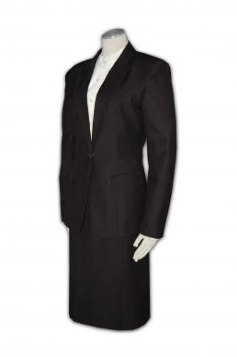 BS240 女收腰西裝度身訂做 中長款西裝款式 西裝個性選擇 女收腰西裝款 西裝專門店