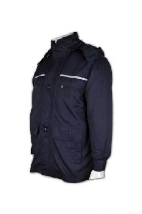 SE044  保安風衣制服 來版定制 團體保安制服 業主立案法團 保安制服批發商