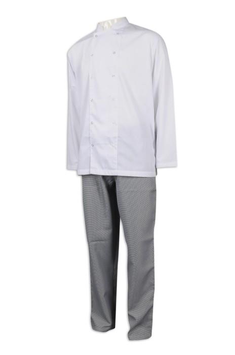 KI105 製作廚師制服套裝 廚師制服專門店