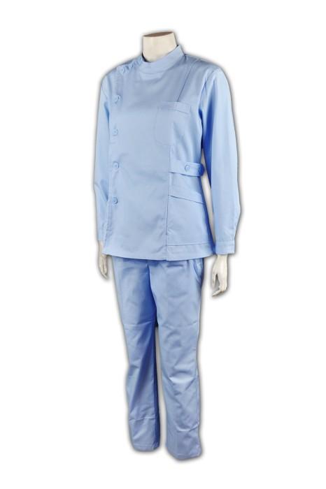 NU011 自訂醫生制服 套裝護士制服款式設計 團體制服 護士制服公司  醫護衫褲