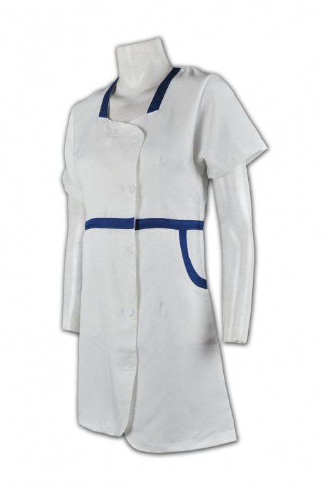 NU007  訂製護士制服 醫生制服來樣訂製 團體制服款式選擇 護士制服供應商