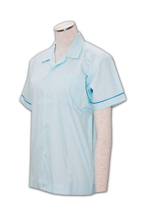 NU003 護士上衣制服 度身訂造 團體醫療服 護士制服款式 護士制服專門店