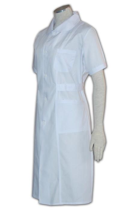 NU006 醫生制服訂做 醫療制服度身訂造 裙裝護士服 護士制服香港公司