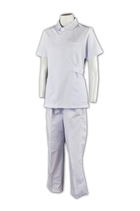NU009 量身訂造套裝醫護人員制服  團體制服設計  牙科護士 團體醫療制服 醫療制服專門店