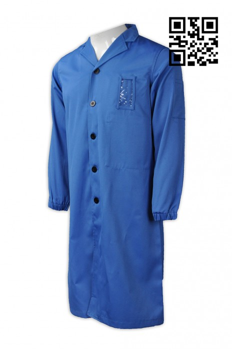 NU042 自訂度身診所制服款式    設計淨色診所制服款式   名牌扣 訂做診所制服款式    診所制服工廠