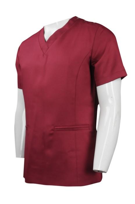 NU045 大量訂做診所護士制服 團體訂購診所護士制服 香港 護士制服供應商  醫護衫褲