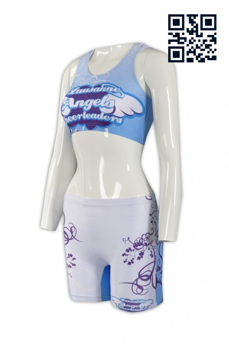 BG024 訂印緊身啤酒女郎制服  設計褲裝啤酒女郎制服 背心BRA TOP TUBE TOP 套裝 短褲