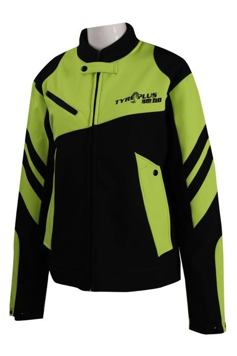 BG031 訂製撞色賽車隊衫 馳加 復合布 賽車隊衫生產商