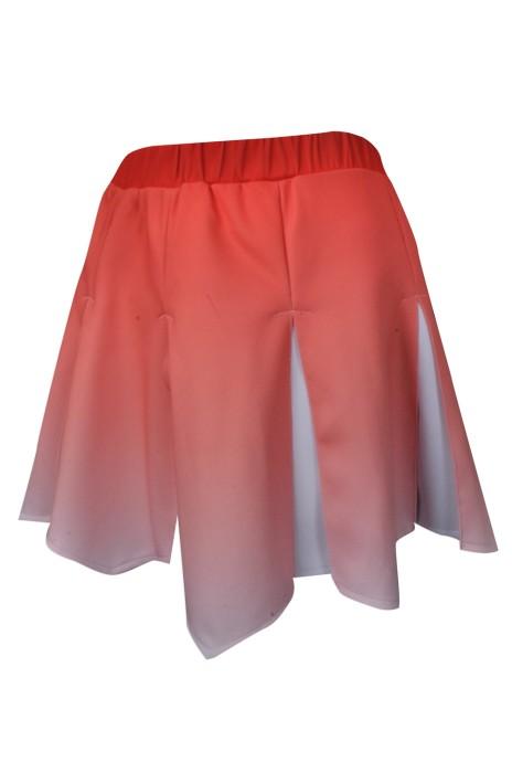 CH174 網上下單單裙啦啦隊服 團體訂做百褶裙啦啦隊服 設計漸變色單裙啦啦隊服專營店