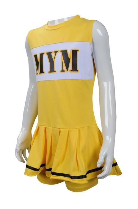 CH186 來樣訂做啦啦隊服 團體訂做啦啦隊服款式 棉彈力 連身裙 澳門 啦啦隊協會 童款 訂製啦啦隊服供應商