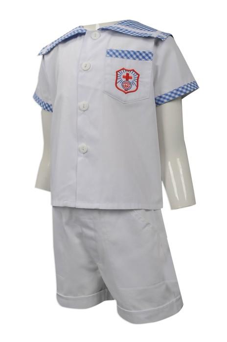 SU271 來樣訂做幼稚園校服套裝 網上訂購小童校服套裝款式 訂造兒童校服批發商