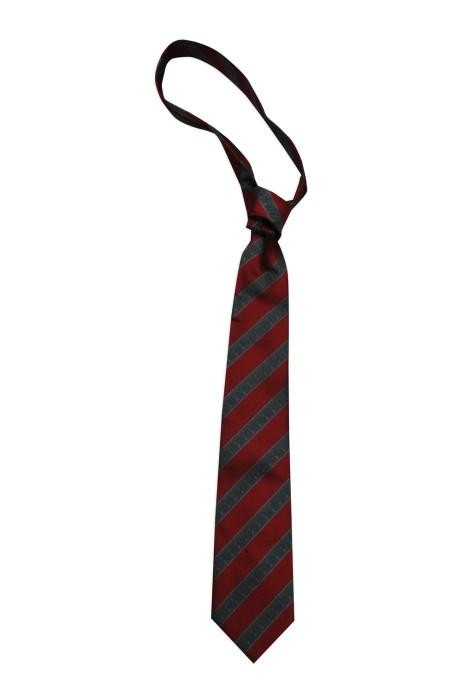 TI146 製造紅灰條紋領帶  來樣訂造領帶   J's ideas Co. Limited  網上下單領帶  領帶專門店