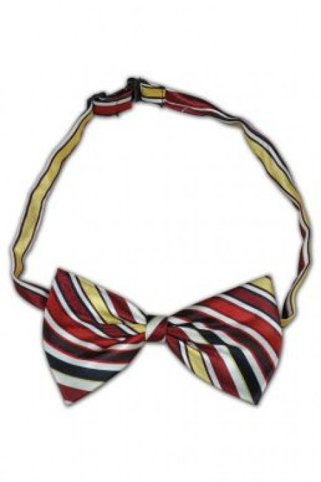 TI0120 彩條領結 訂製 絲質彩間領結 領結搭配 領結專門店
