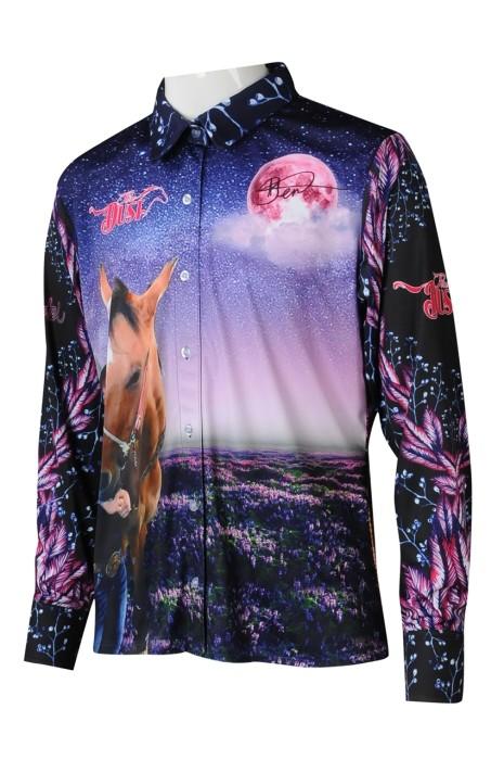 KD093 訂製男童馬術障礙POLO恤衫熱昇華  設計童裝印花熱昇華熱昇華專營 澳洲 Pure Dust