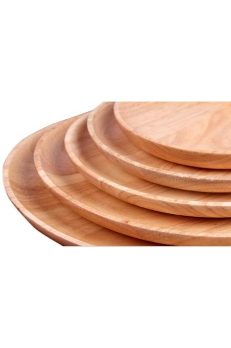A176  訂購橡膠木點心碟 設計日式木碟 木質零食水果盤 實木碟子 酒店餐具  碟子製造商