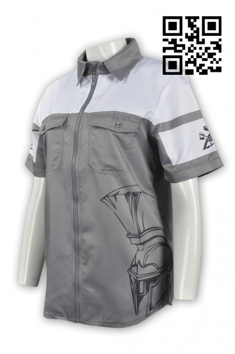 DS055 設計個性標隊衫款式   自訂LOGO標隊衫款式   訂造度身標隊衫款式  標隊衫製造商