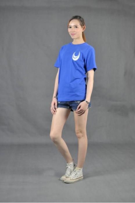 T528 自製tee-shirt   真人試穿 模特示範 班tee訂製  訂購環保t-shirt  tee供應商HK
