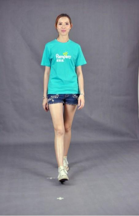 T529 網上印tee  真人試穿 模特示範 訂購團體環保衫  設計t-shirt款式   班tee供應商HK