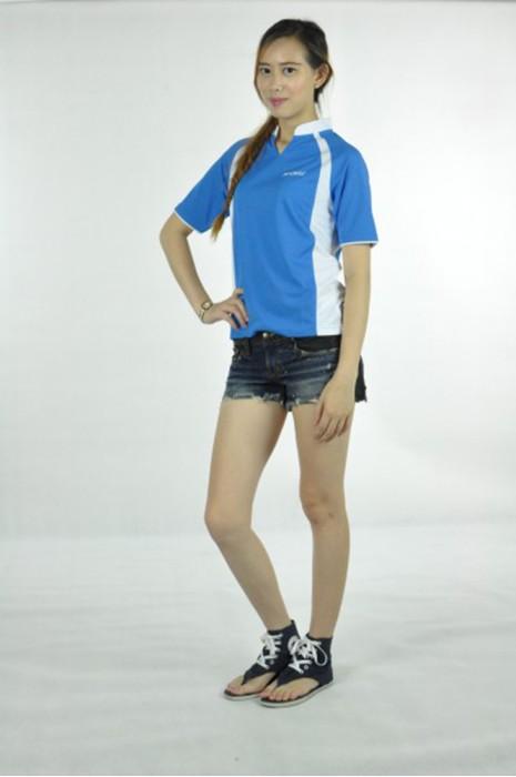 P467 自訂女裝poloshirt  MODEL  真人模範 大量訂購polo短袖衫   女裝Rugby shirt  rugby teamwear  欖球衫供應商HK
