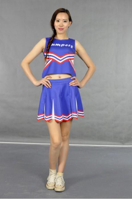 CH111 團體背心印花啦啦隊套裝 模特展示 真人示範 度身訂製 百褶裙款設計啦啦隊套裝 打氣啦啦隊套裝 啦啦隊套裝公司