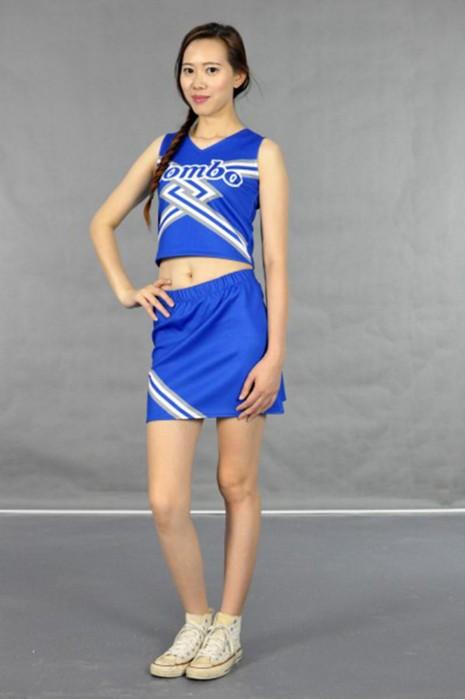 CH116 團體啦啦隊套裙 模特展示 真人示範 度身訂做 背心短裝啦啦隊套裝 啦啦隊裝配搭 啦啦隊套裝公司