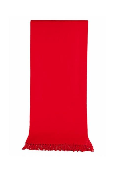 SKSL003  製造活動披肩  來樣訂造大紅色披肩   印logo禮品圍巾    披肩製造商