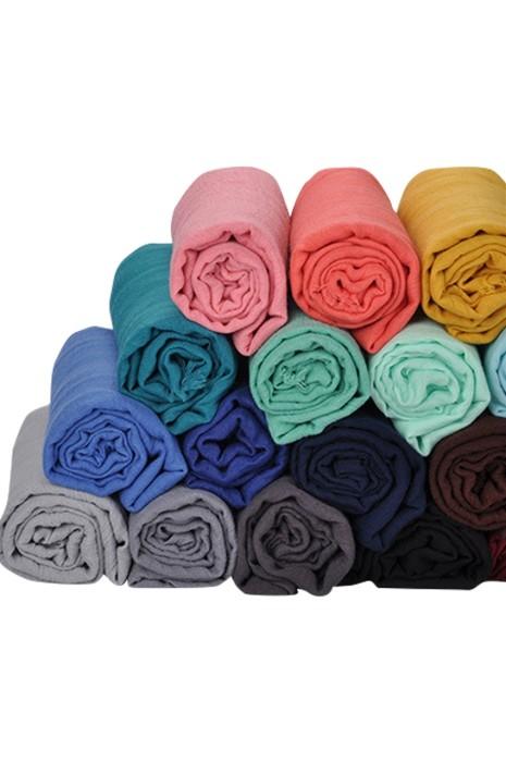 SKSL006 製造淨色麻質圍巾 訂做保暖圍巾 圍巾中心