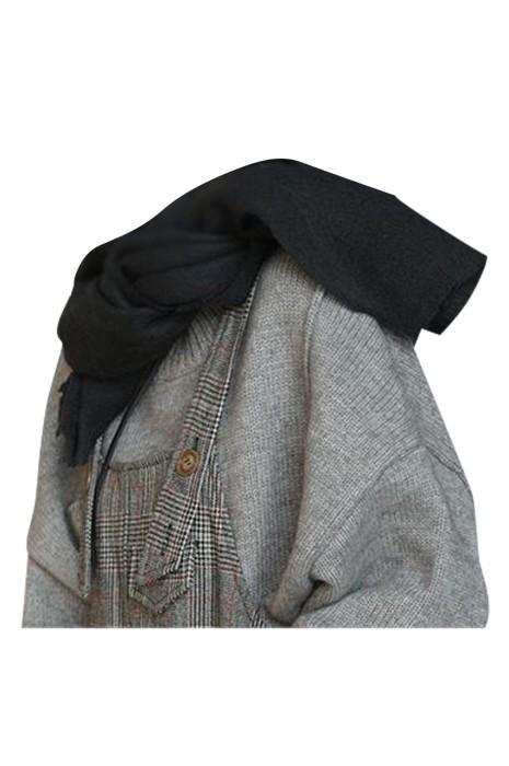 SKSL014 供應淨色圍巾  訂製保暖防寒氂牛圍巾 圍巾供應商