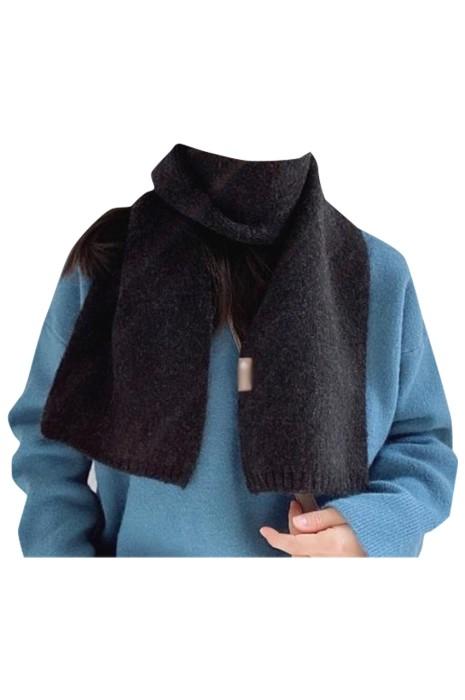 SKSL021  大量訂製淨色保暖圍巾 製造長款加厚幼羊駝圍巾 幼羊駝圍巾供應商
