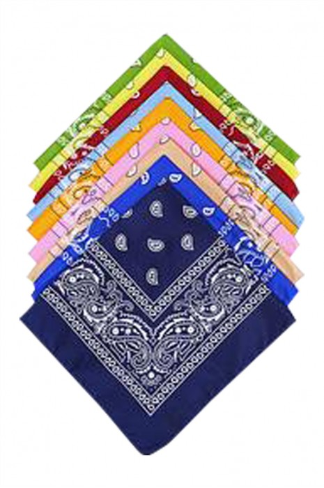 SKSL032 製造牛仔圍巾 供應街舞手腕頭巾方巾圍巾 牛仔圍巾專門店