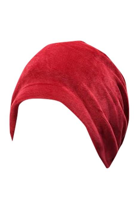 SKSL036  製造毛絨睡覺圍巾 設計淨色堆堆帽 圍脖 保暖睡覺圍巾 睡覺圍巾製衣廠