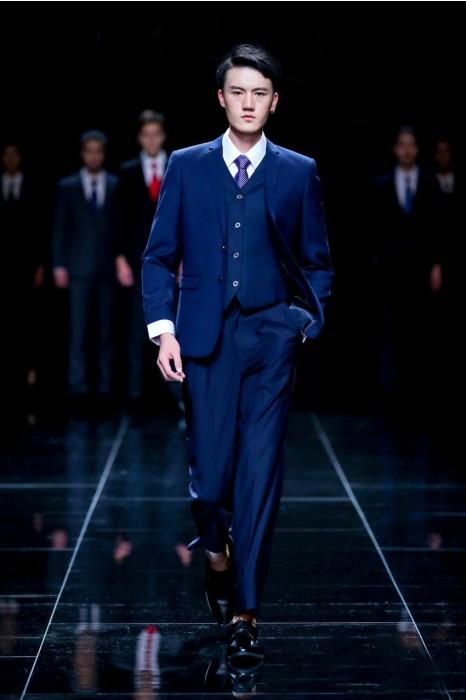 MDBS004 模特展示三件套西裝  真人走秀男西裝 男西裝供應商