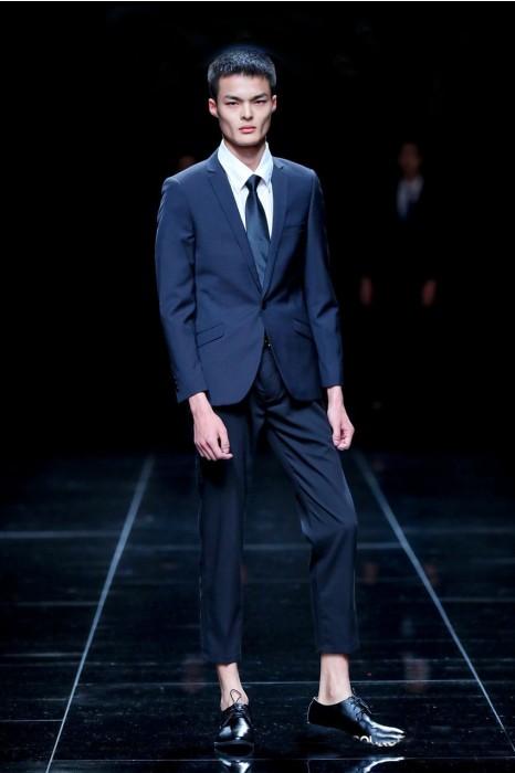 MDBS008 模特展示男西裝  設計商務西裝套裝  真人走秀 西裝製造商