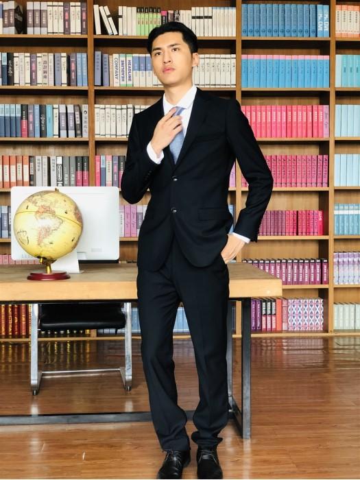 BD-MO-058  大量訂購男西裝套裝  模特試穿 來樣訂製男西裝 男西裝專門店