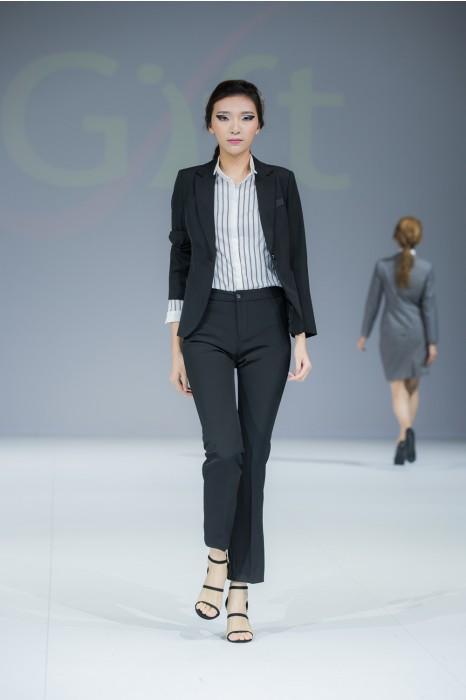 BWS088 設計修身女西裝 製造褲裝女西裝 模特走秀 真人示範   度身訂造女西裝 女西裝製造商