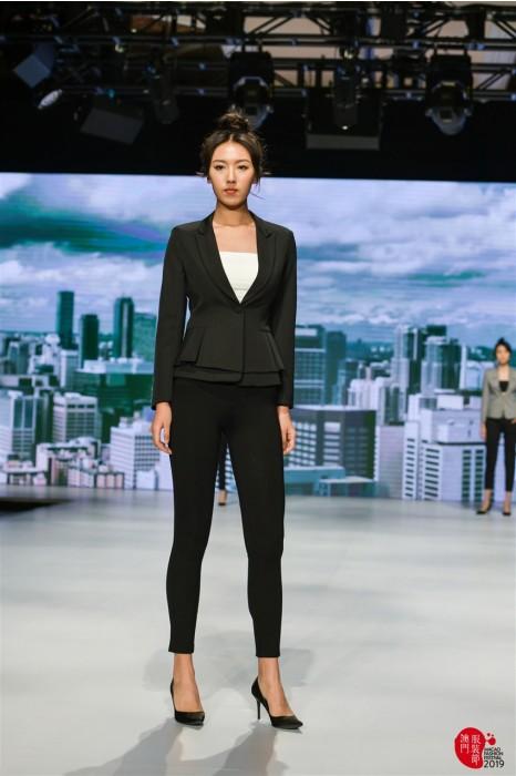 MDBWS001 真人試穿西裝外套  模特示範女西裝 西裝製衣廠