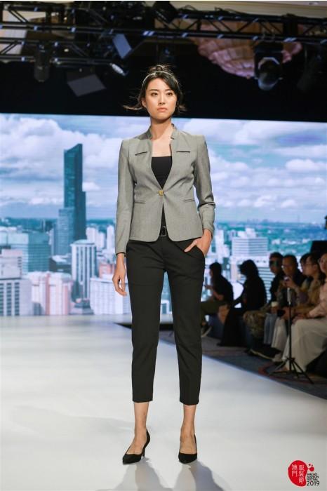 MDBWS002 訂購灰色女西裝 模特走秀女西裝外套 西裝專營