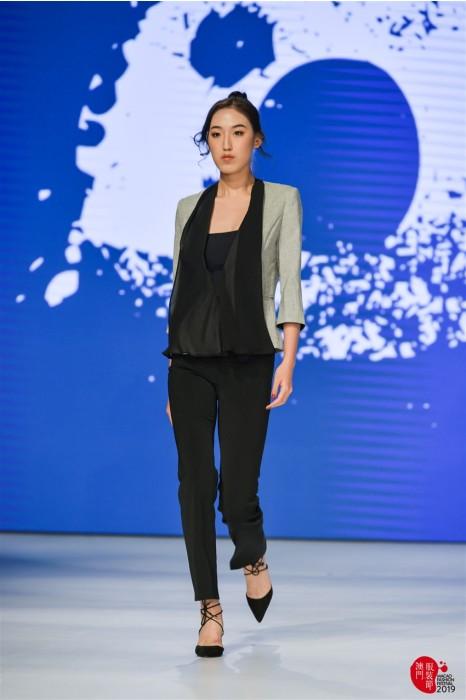 MDBWS007 製造時尚女西裝 真人試穿效果 女外套專門店