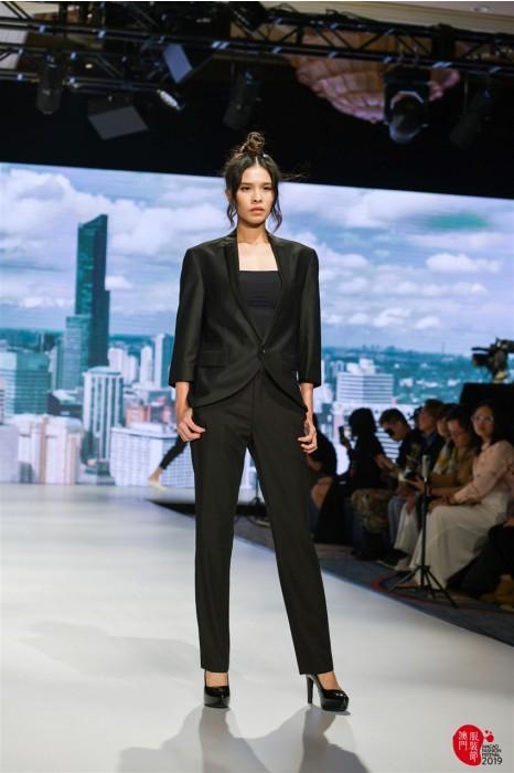 MDBWS008 訂購七分袖西裝 設計時尚款式女西裝 模特走秀 西裝供應商