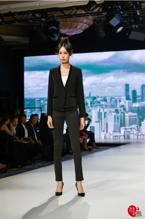 MDBWS009  製造修身款式女西裝 真人試穿效果 設計時尚西裝 西裝hk中心
