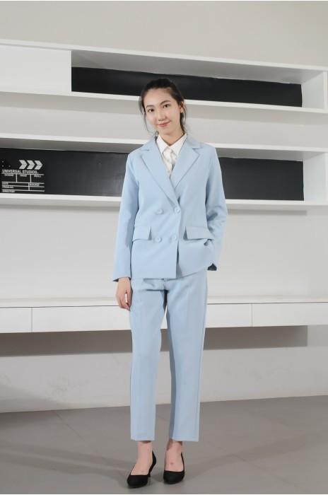 BD-MO-073 網上訂購休閒西裝 模特試穿 通勤休閒女西裝 西裝專門店