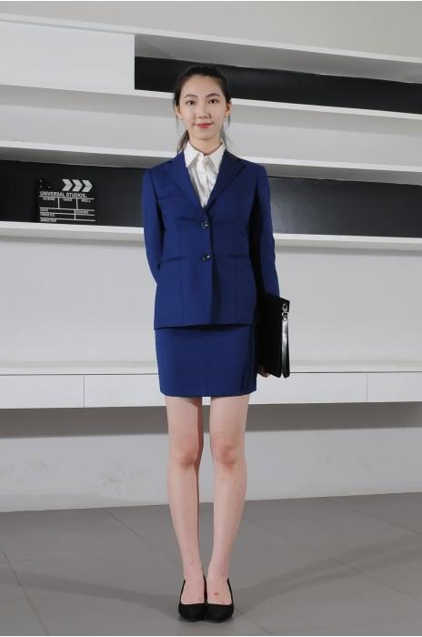 BD-MO-075 訂造職場女西裝 模特示範 通勤休閒西裝套裝 西裝專門店