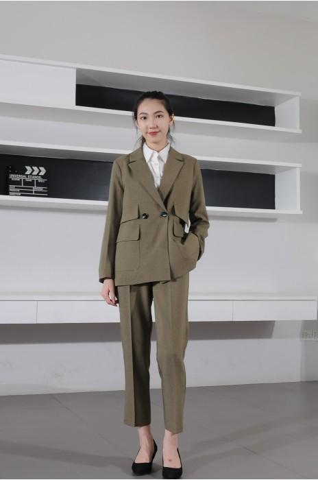 BD-MO-076 訂製設計感西裝 模特示範 通勤休閒女西裝 西裝專門店