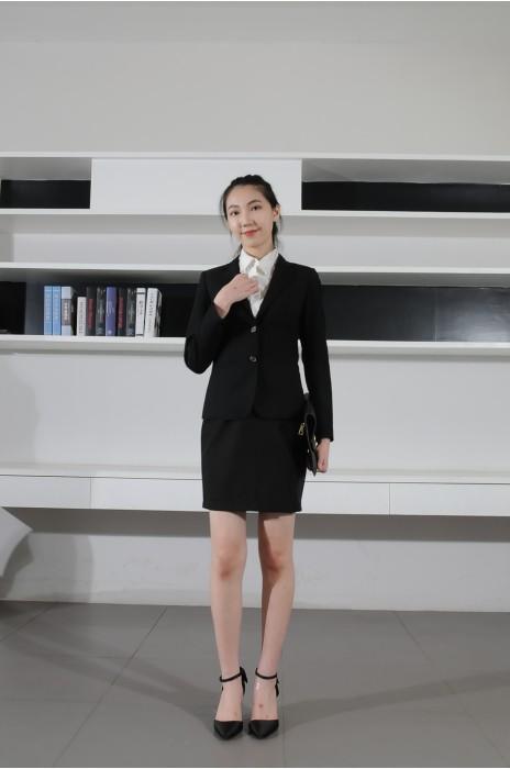 BD-MO-077 網上訂購職業女西裝 模特展示 度身訂造女西裝 西裝專門店