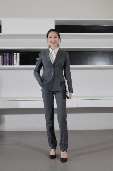 BD-MO-080 來版訂購職業女西裝 模特展示 製造辦公室通勤女西裝 西裝專門店